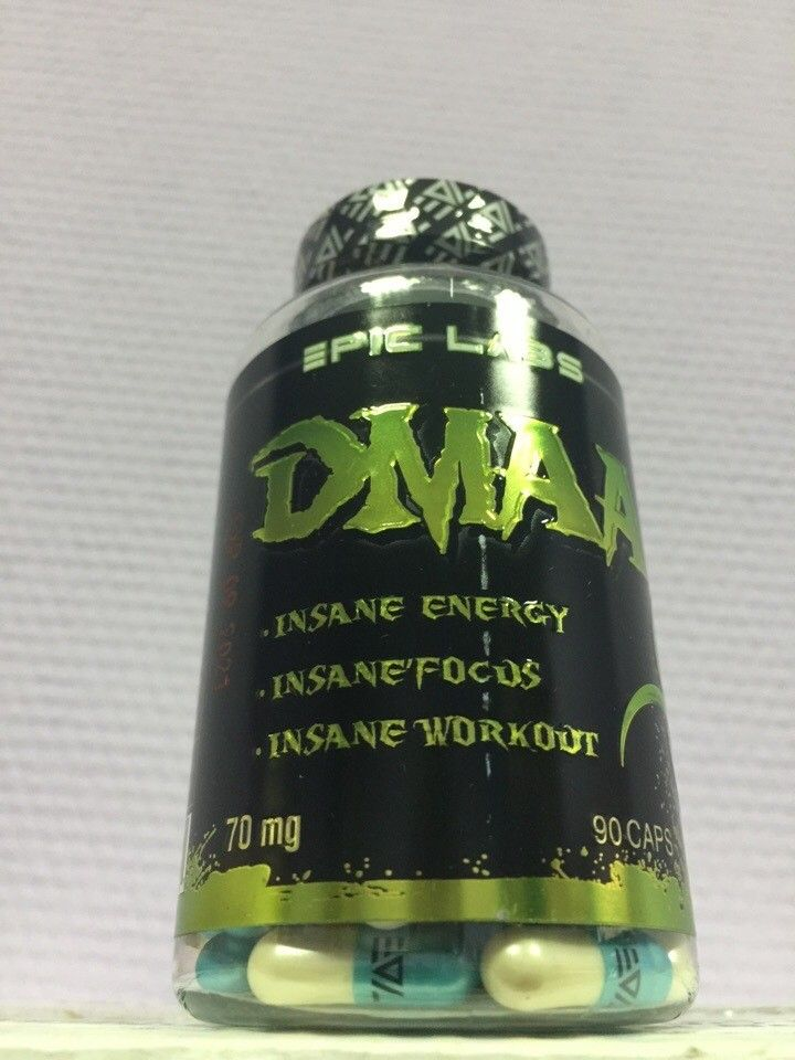 Предтреник DMAA (герань) 70мг*60 кап (Epic Labs)