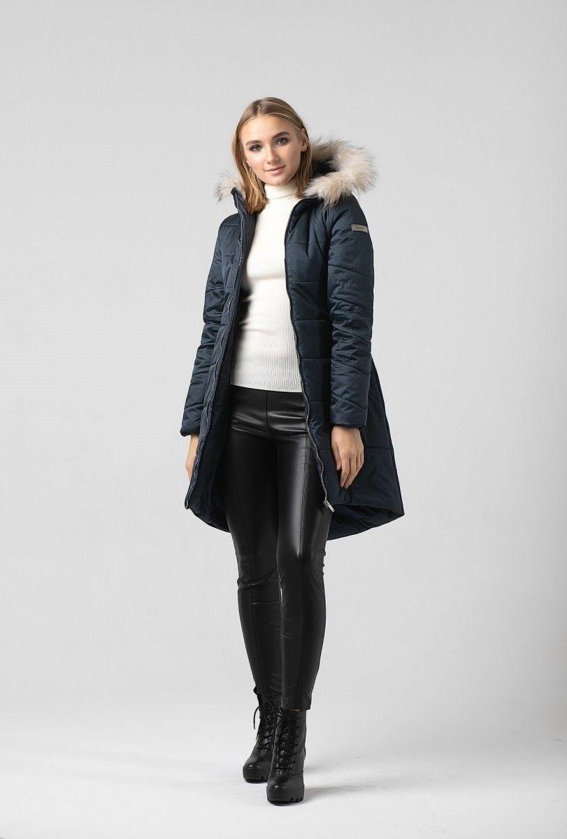 Пальто женское HEIDEN цвет темно синее вид4