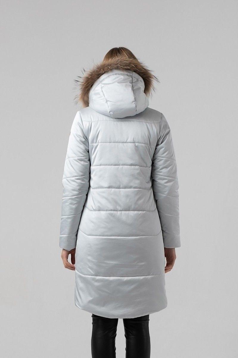 Пальто женское HEIDEN цвет серебро вид3