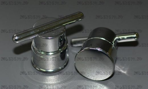 Ручки д/двери на одно отверстие (комплект на одну дверь)