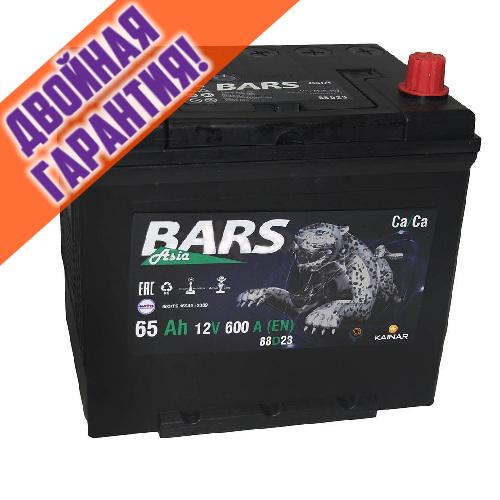 Аккумулятор Bars Asia 75D23R 65 А/ч