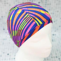Узор 3 Текстильная шапочка для плавания