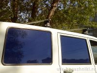 Багажник на крышу UAZ Patriot, Атлант, прямоугольные дуги