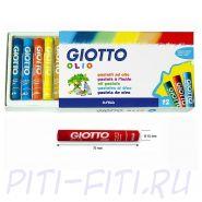 Giotto. Масляная пастель, 12 цветов
