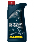 MANNOL масло моторное мин.д/лод Outboard Universal API TCW()1л