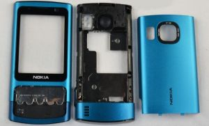 Корпус Nokia 6700 Slide (blue)