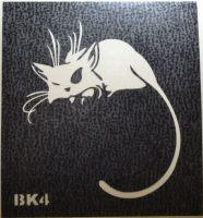 Трафареты для боди-арта, био-тату BK4