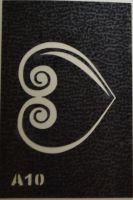 Трафареты для боди-арта, био-тату A10
