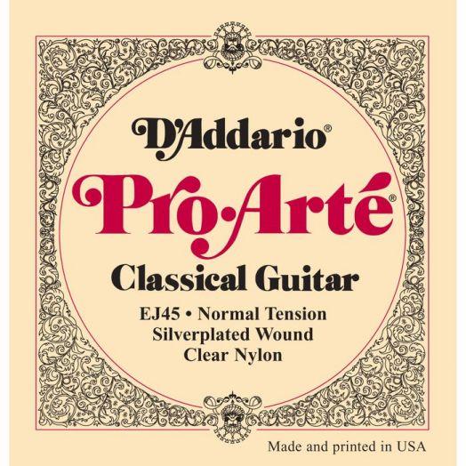 D`ADDARIO EJ-45 Струны для классич. гитары (нормальное натяжение)