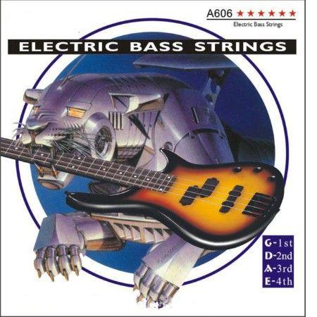 ALICE А606-(4)-М (045-105) Cтруны для бас-гитары (4 стр.)