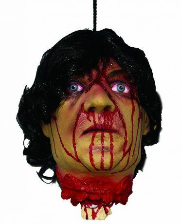 Голова отрубленная окровавленная
