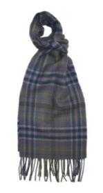 шарф 100% шерсть , коллекция Горец -яркая клетка, расцветка Бэрони