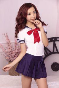 Летняя форма японских школьниц (фиолетовая)