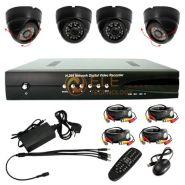 Комплект Видеонаблюдения видеорегистратор + 4 внутренние ИК 15 камеры