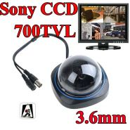 Sony CCD 700TVL HD купольная камера