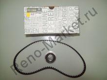 Комплект ГРМ (ремень+ролик) Renault 7701477024 оригинал