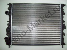 Радиатор охлаждения без кондиционера (до 2008г.) Finord FN-2385 аналог 7700838134,7700836301