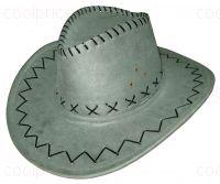 Ковбойская шляпа, зелёная