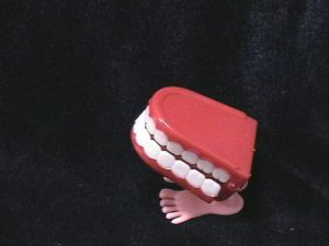 Зубы прыгающие
