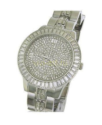 Стильные позолоченные белым золотом мужские часы Xanadu с кристаллами Сваровски