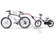 Тандемная штанга д/буксировки детского велосипеда Peruzzo Trail Angel красный