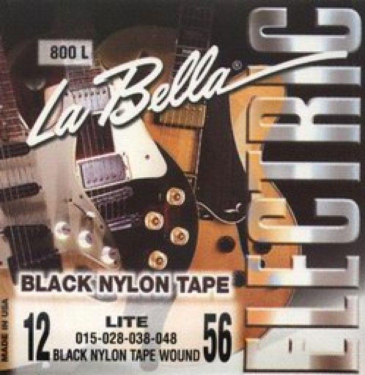 LA BELLA 800L (12-56) Струны для электрогитары