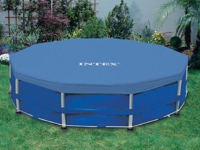 Тент для каркасных бассейнов Intex 366 см