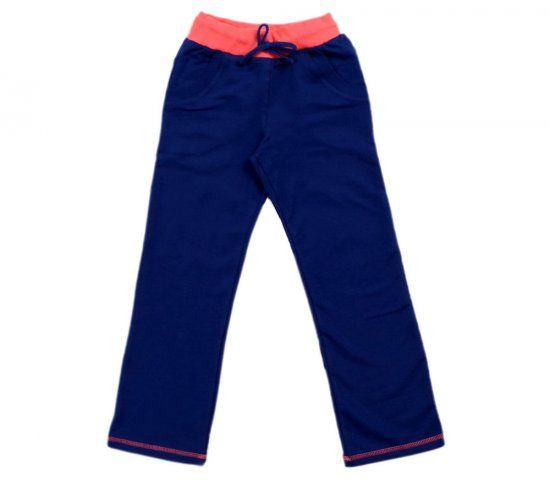 Штаны для девочки синие
