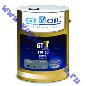 Масло моторное GT OIL 1 SM/CF 5W50 200л. син.