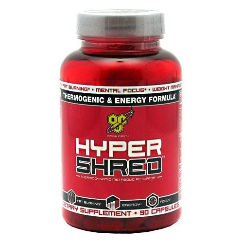 BSN Hyper Shred, 90 капсул.