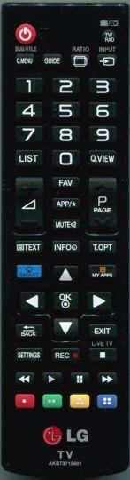 Пульт LG AKB73715601
