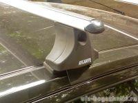 Багажник на крышу Nissan Note, Атлант, аэродинамические дуги