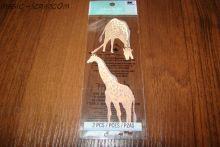 "Наклейки от Jolees ""Жирафы"""