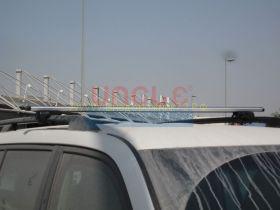 Багажная система на штатные рейлинги (Тип 3) для Toyota Land Cruiser 200 / Lexus LX