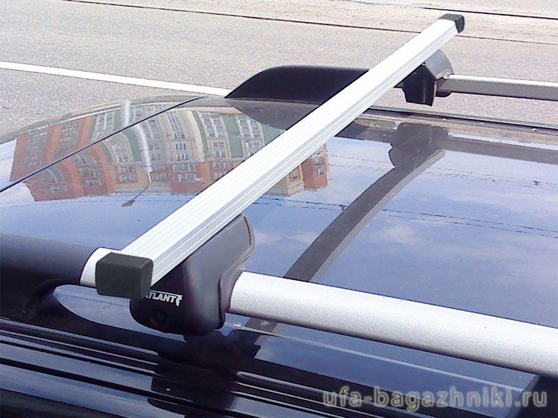 Багажник (поперечины) на рейлинги на Ладу Приору, Атлант, прямоугольные дуги