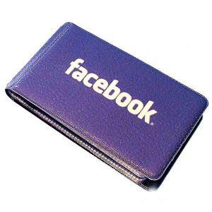 "Визитница ""Фейсбук"""