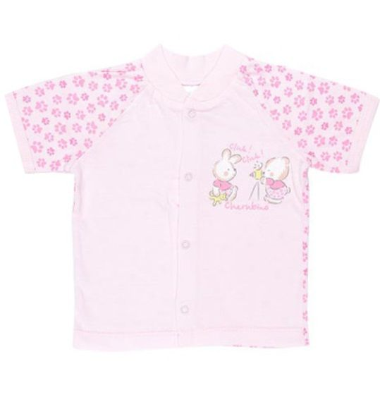 Кофточка розовая