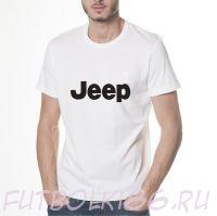 Футболка логотип Джип