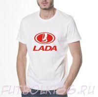 Футболка логотип Лада