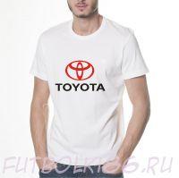 Футболка логотип Тойота
