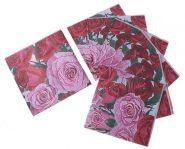 салфетка для декупажа Розы 33*33