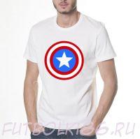 Футболка Captain America logo