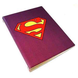 """Обложка для тетрадных блоков """" Супермен """""""
