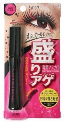 Тушь для ресниц с эффектом подкручивания Sana Super Quick Maskara