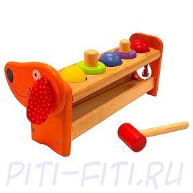 """I'm toy. Игра развивающая """"Такса-скамеечка"""""""