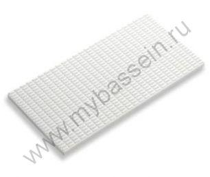Противоскользящая  плитка с сетчатой поверхностью