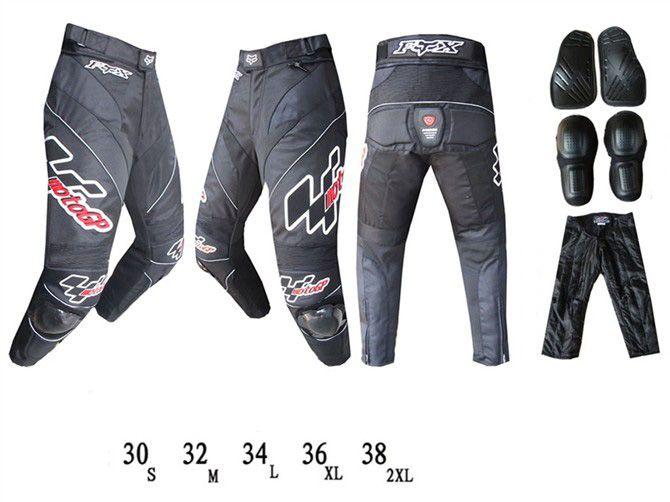 Мотоциклетные штаны FOX GP (черный)