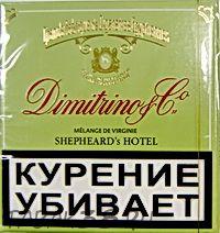 Сигареты DIMITRINO Shepheard's hotel  МРЦ 160 руб.