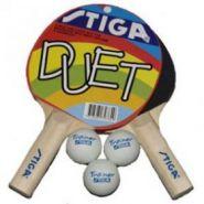 Набор Stiga  Duet, 2 ракетки+3 мяча