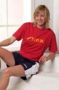 Футболка Stiga Retro (красный)